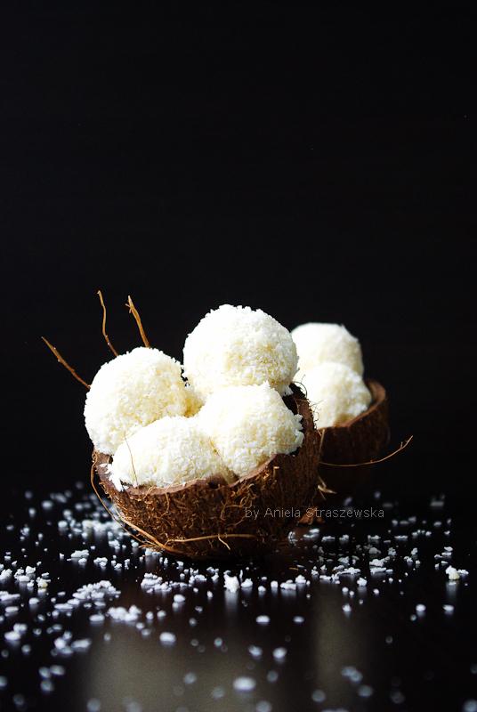 Kokosowe praliny